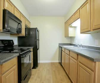 Kitchen, Briargate Condominiums, 0