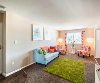 Living Room, Crescent Pointe, 0
