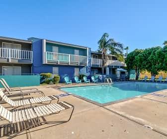 Pool, Bay Bluff Apartments, 0