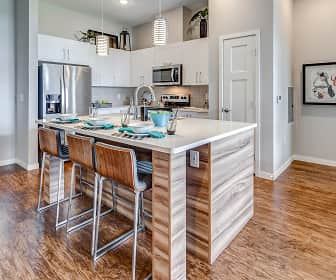 Kitchen, RIZE at Opus Park Apartments, 0