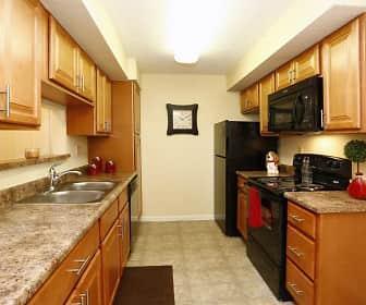 Kitchen, Belmont Ridge Apartments, 0