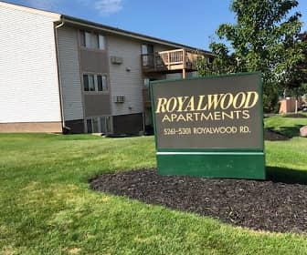 Community Signage, Royalwood Apartments, 0