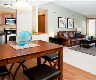 Dining Room, Greenfield Apartments, 0