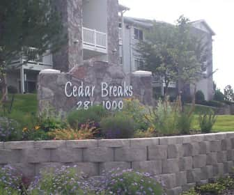 Community Signage, Cedar Breaks, 0
