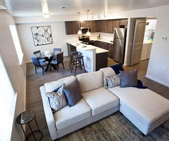 Living Room, Riverview Loft Apartments, 0