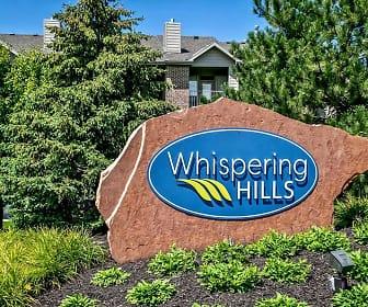 Community Signage, Whispering Hills, 0