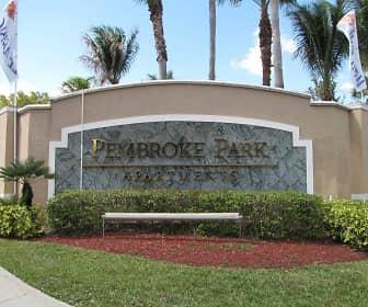 Community Signage, Pembroke Park, 0