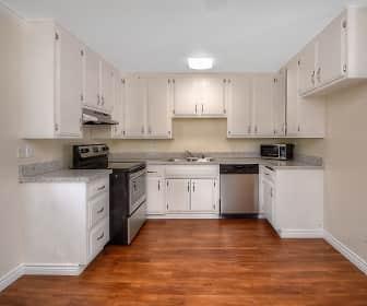 Kitchen, West Park Apartments, 0