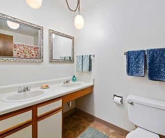 Bathroom, Village 1 Apartments, 0