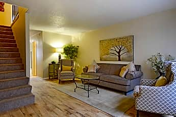 Living Room, Brookside Apartments, 0