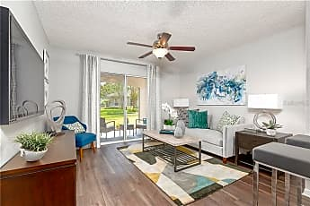 Living Room, 1024 Vizcaya Lake Rd A1, 1