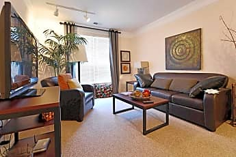 Living Room, The Summit at Coates Run, 1