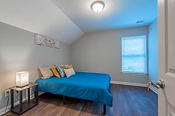 Bedroom, Room for Rent -  a 5 minute walk to bus 58, 2