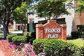 Community Signage, Frances Place Apartments, 2