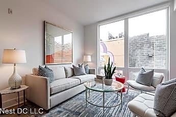 Living Room, 801 Virginia Avenue SE Unit 206, 0