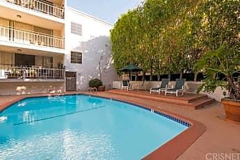 Pool, 7270 Hillside Ave 104, 2