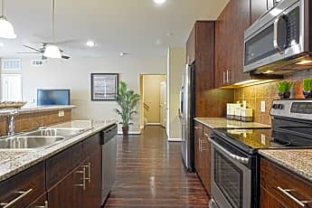 Kitchen, West Lake Park Apartments, 1