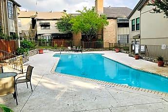 Pool, 7711 Callaghan Rd 724, 2