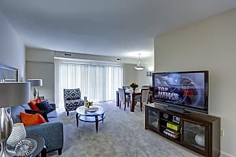 Living Room, Yorktown Apartments, 0
