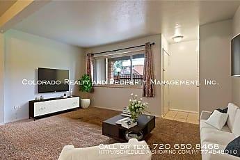Living Room, 3663 S Sheridan Blvd Apt D6, 0