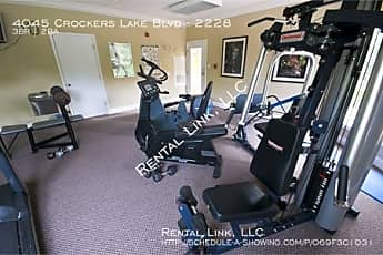 Fitness Weight Room, 4045 Crockers Lake Blvd - 2228, 2