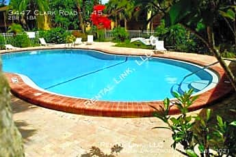Pool, 3447 Clark Road - 145, 2