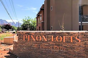 Community Signage, Pinon Lofts, 0