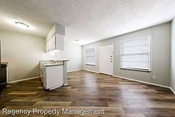 Living Room, 4300 Fredericksburg Road, 1