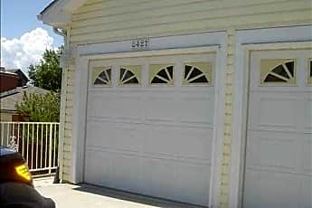 One car garage with uncovered parking in front, 8427 S Reed St, 0