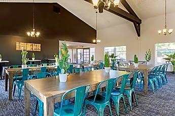 Dining Room, Alpine Village Apartments, 0