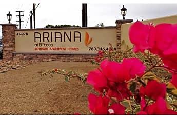 Ariana at El Paseo, 0