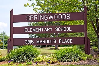 Community Signage, Springwoods at Lake Ridge Apartment Homes, 2