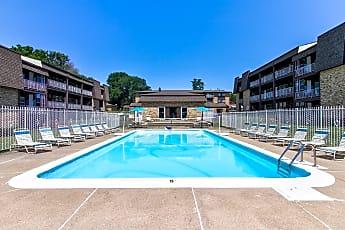 Pool, The Four Seasons Apartments, 1