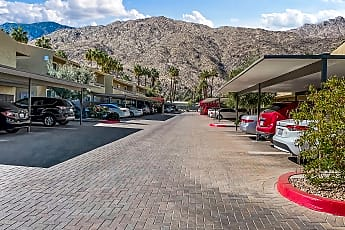 View of gate from inside.jpg, 1950 S Palm Canyon Drive, Unit 151, 2