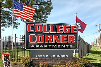 Community Signage, College Corner Apartments, 2