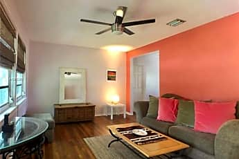 Living Room, 551 NE 110th Terrace, 1