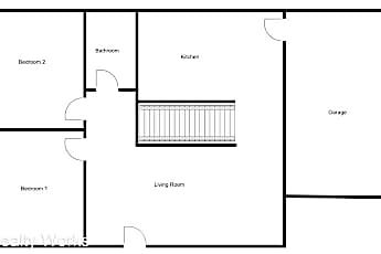 Building, 3831 Garfield St, 2