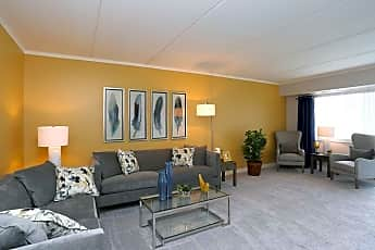 Living Room, Woodbury Place Apartments, 0