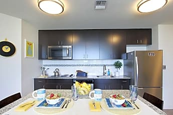 Kitchen, Bayview Student Living, 1
