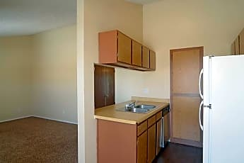 Kitchen, Valley Place Apartments, 0