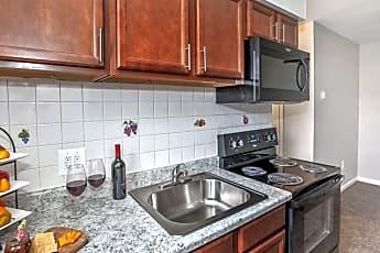 Kitchen, Liberty Square, 1