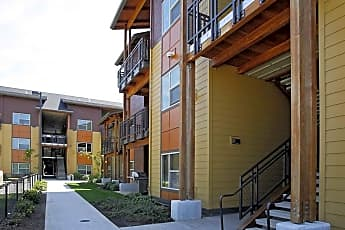 Building, 1st Street Apartments, 0