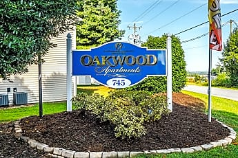 Community Signage, Oakwood Apartments, 1