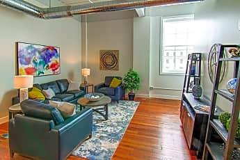 Living Room, Rathbun Lofts, 0