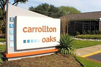 Community Signage, Carrollton Oaks, 0