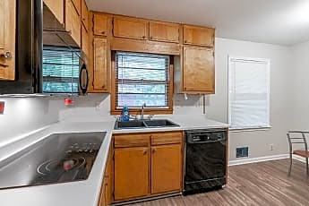 Kitchen, Room for Rent -  a 5 minute walk to bus 186, 0
