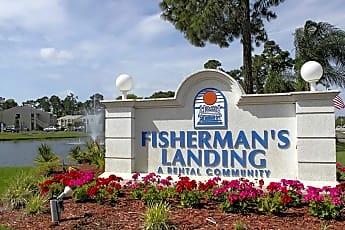 Community Signage, Fisherman's Landing, 0