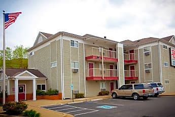 Building, InTown Suites - Highway 290 (ZHW), 0