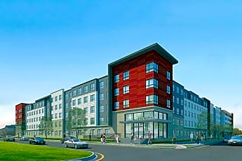 Rendering, Park Place Student Living, 0