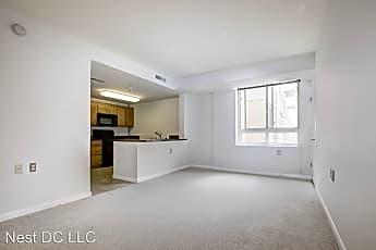 Living Room, 350 G St SW Unit N503, 1